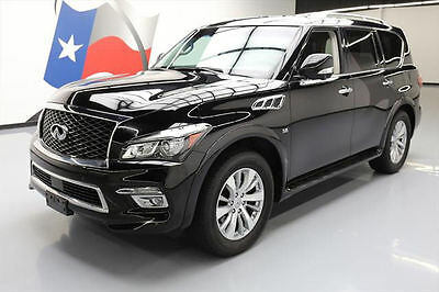 2016 Infiniti QX80  2016 INFINITI QX80 SUNROOF NAV REAR CAM 360 CAM 46K MI #610472 Texas Direct Auto