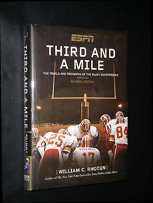 Rhoden, William C.; ~  THIRD AND A MILE  ~ 2007 HB/DJ; true 1st/1st; VG+; SIGNED