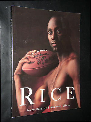 Rice, Jerry;  ~  RICE  ~  1996; Large softcover; true 1st/1st; New, Gift Quality