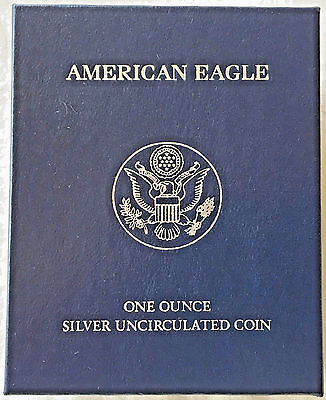 2011 American Silver Eagle One Dollar with Mint Box and COA.-- 0.999 FINE