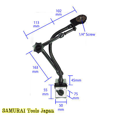 Dual Arm Pro, Magnetic Stands, Adhesion 1000N, DA3000, NOGA, Made in JAPAN