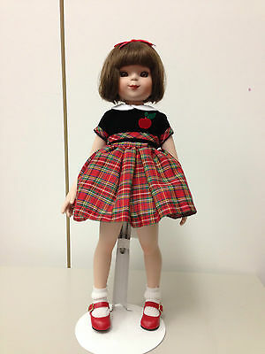 """14"""" Tonner Betsy McCall - Porcelain - First Day of School - All Original"""