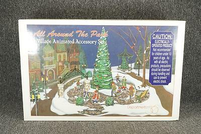 Vintage Department 56 All Around The Park Animated Accessory Set #5247-7