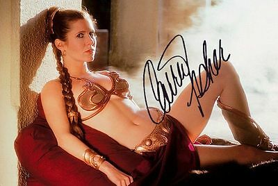 STAR WARS ~ Slave Princess Leia ~ Carrie Fisher - photo COPY! VERY NICE! F1