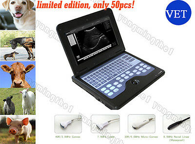 VETERINARY Software Full Digital Laptop Ultrasound Scanner with LINEAR probe