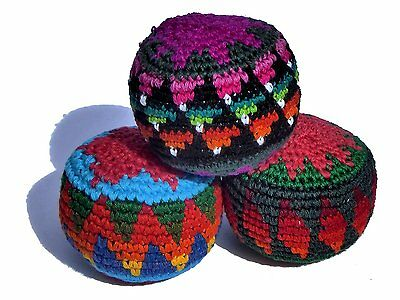 Juggling balls x 3 fair trade, assorted colours