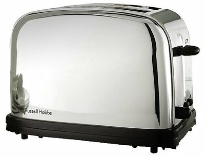Russell Hobbs 13766-56 Grille-Pain Rétro 2 Fentes 1100 W Inox NEW