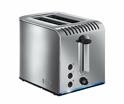 Russell Hobbs Grille-Pain 2 fentes Buckingham - brunissage rapide, 1 200 W, NEW