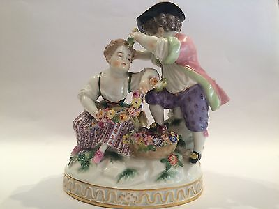 Antique Meissen Porcelain Figurine
