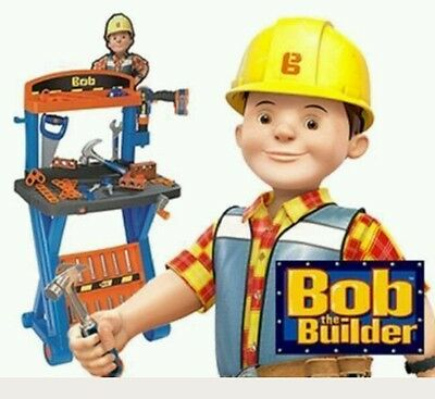 bob the builder my first workbench brand new unopened fast sending With drill