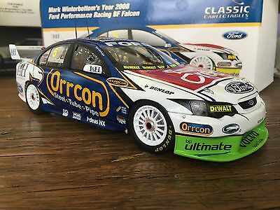 Die Cast 1-18 - Mark Winterbottom - Ford BF Falcon 2008