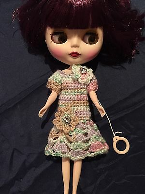 Hand Knitted Dolls Clothes For Blythe Doll