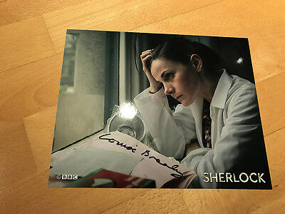 Louise Brealey SHERLOCK Signed 8x10