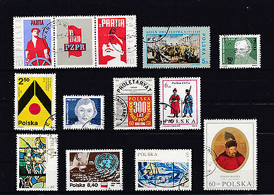Lot 017 : timbres Pologne/.