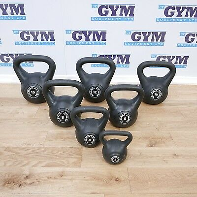 2 - 16kg Element Kettlebell Set - NO 14Kg in set (Gym Equipment)