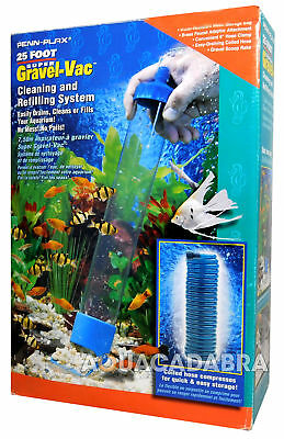 Penn Plax Super Gravel-Vac Vacuum Syphon Cleaner Refill Aquarium Fish Tank