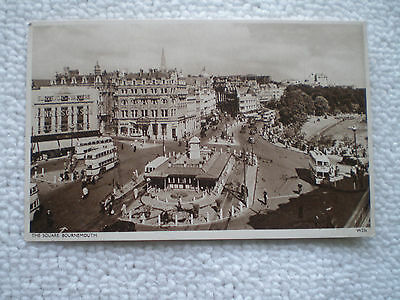 Postcard The Square Bournemouth W226 Wade'S Sunny South