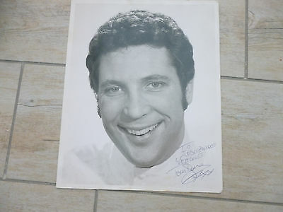 Tom Jones autographed photo-To Josephine with love