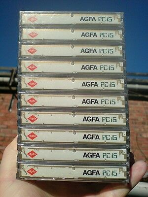 One pack of 10 BLANK AGFA PC 15, Computer CASSETTE TAPES (SEALED.)