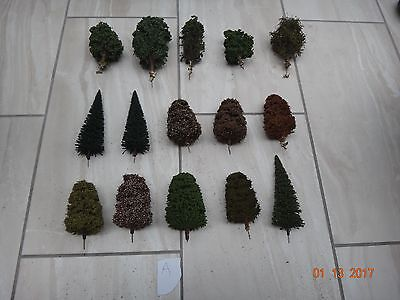 Lots Of Model Railway Scenery Layout Trees  Ho/oo Gauge           A