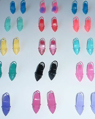 VERY RARE LARGE Vintage Hasbro Sindy Doll Shoe Collection