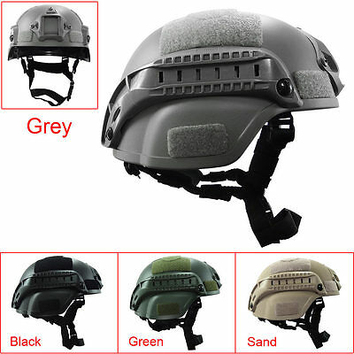 Outdoor Simplified Action Military Tactical Combat Riding MICH2000 Helmet New