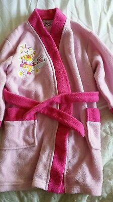 Baby girls dressing gown 18-24 months upsy daisy in the night garden pink
