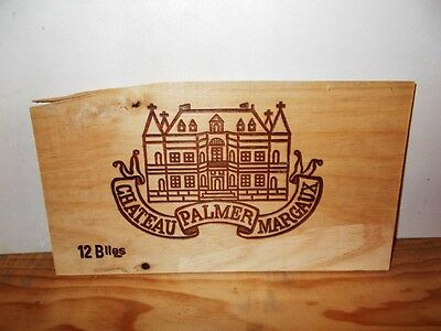 estampe facade chateau PALMER margaux wine front panel ohk owc cbo