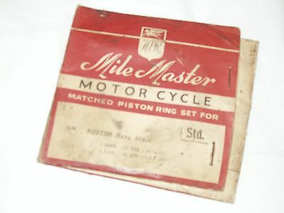 MANX NORTON 500cc - PISTON RING SET (N.O.S.)