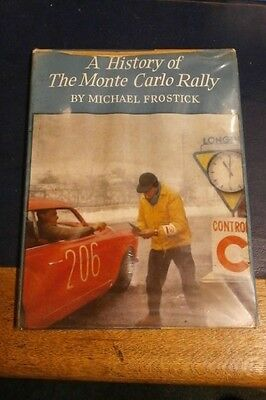 A History of the Monte Carlo Rally by Michael Frostick, 1963