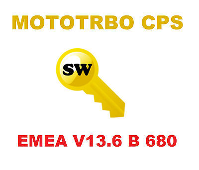 ORGINAL Motorola MOTOTRBO RM + CPS 13.6 build 680 EMEA with Latest Firmware