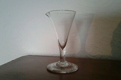 Antique 19th century glass with pourer