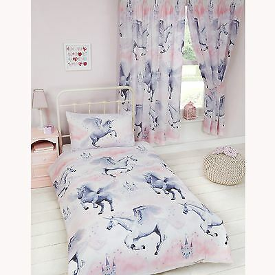 Exclusive Stardust Unicorn Single Duvet Cover Set New Girls Bedding