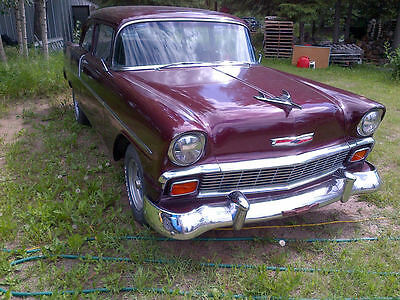 Chevrolet: Bel Air/150/210 1956 Chevrolet - V8 - 4 Speed manual
