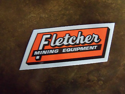 Fletcher Stickers Two of them Mining Hard Hat