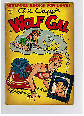 AL CAPP'S WOLF GAL COMIC No. 2 from 1952