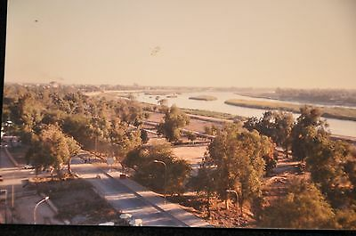 Early Iraq War Photograph 3.5 X 5 Original 'euphrates River Picture Baghdad'