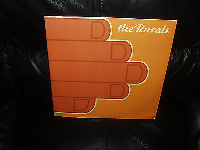 The Rurals   - 8 Track Double Pack - Hole In My Head   Near Mint