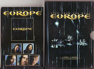Europe - Live From The Dark, 2DVD,Slipcase Special edition.
