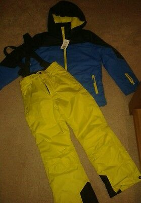Childrens ski suit jacket 11-12 salopettes 9-10 new