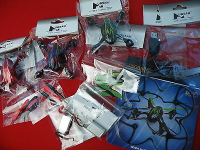 Hubsan Spares and Battery Bundle - Hubsan X4 H107C Quadcopter