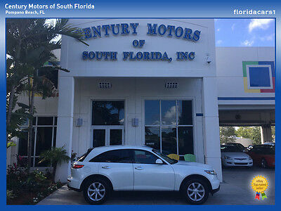 2004 Infiniti FX Base Sport Utility 4-Door NON SMOKER FLORIDA SUV SALT FREE RUST FREE PRIVATE OWNER 35015 MILES 3.5L V6