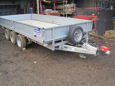 Ifor Williams Plant Trailer Model Lm146G3
