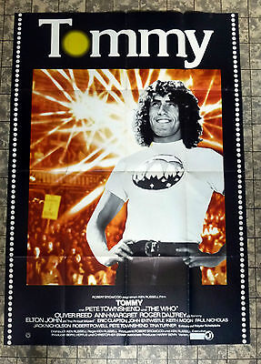 TOMMY * THE WHO / DALTREY - GERMAN 2-SHEET MOVIEPOSTER Style B 1975 CULT MUSIC