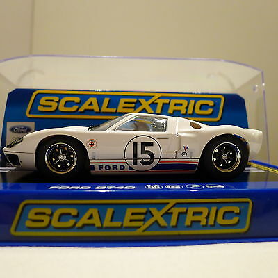 Scalextric Car - Ford GT40 - Le Mans - 1966 - Ex Condition