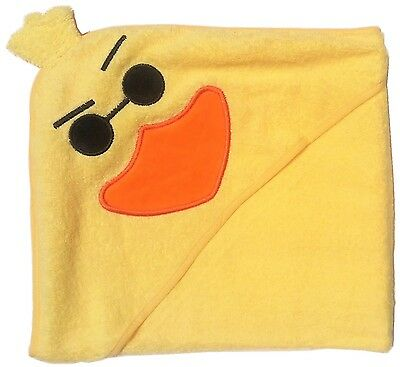 """""""Too Tough"""" Duck Yellow Hooded Towel, Babies and Toddlers, 100% Cotton"""