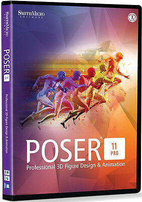Poser Pro 11 by Smith Micro, New Retail Box - PSRPRO11HDVD