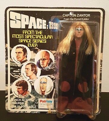 Palitoy Space 1999 Action Figure Captain Zantor From Planet Kaldor No Mego
