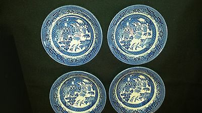 Blue Willow Churchill China - Six (6) pieces