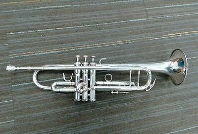 Silver Plated Benge 65B Trumpet